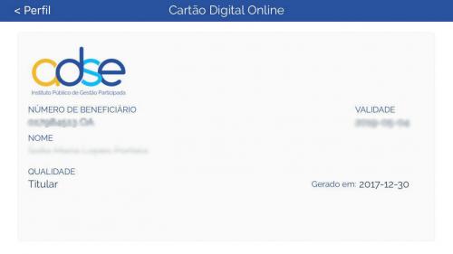 cartao digital - app